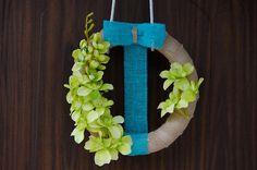 summer wreaths tropical wreath phalaenopsis green by Kreacje
