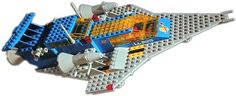 LEGO 6950 Mobile Rocket Transport Set Parts Inventory and Instructions - LEGO Reference Guide