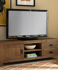 Champagne TV Stand from Macys