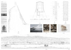 HONOURABLE MENTION. FISH & SHIPS by Jan Zachmann, ETH Zurich, Switzerland. Is Arch 5th edition. Image courtesy of Is Arch. Click above to see larger image.