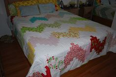 Finished and fresh from the dryer by QuiltinTexan, via Flickr