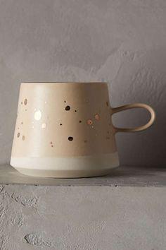 Gold-Flecked Mug