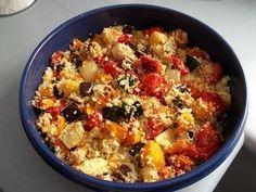 Roast Vegetable Couscous Salad recipe
