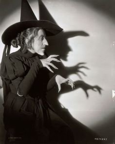 """The Wicked Witch - Played By Margaret Hamilton in """"The Wizard Of Oz"""""""
