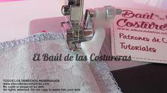 Pie prensatelas para dobladillo | EL BAÚL DE LAS COSTURERAS