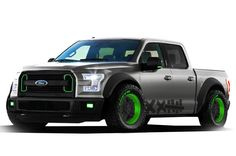 Ford teams up with Vaughn Gittin Jr and Brian Deegan for a pair of performance trucks to be unveiled at SEMA.