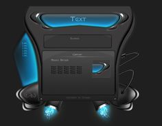 Interface Design by ~Evilroc on deviantART
