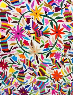 Mexican Suzani Bedspread (Anja)