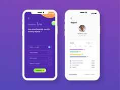 Quiz & Report Screens designed by Richu Michael. Connect with them on Dribbble; Form Design, App Design, Irish Times, Create Account, Mobile App Ui, Ui Kit, Get Excited, Mobile Design, Interface Design