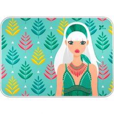 """Vade de sobremesa Archivador de la nueva colección Noa 2017 en su serie """"Hojas"""".  #papeleria #materialescolar #materialdeoficina #Grafoplás #diseño #verde #chica"""