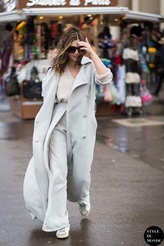 Nasiba Adilova Street Style Street Fashion Streetsnaps by STYLEDUMONDE