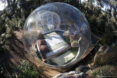 Rede de hotéis francesa oferece quartos bolhas em meio à natureza