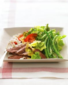 """See the """"Steak Salad with Goat Cheese"""" in our Quick Main-Course Salad Recipes gallery"""