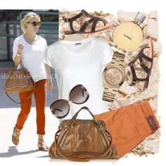 Reese Witherspoon style inspired, created by sasha-sugar on Polyvore