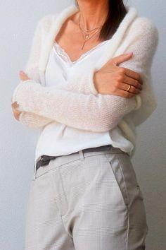 Bolero shrug knit bolero mohair wedding sweater bridal cover up bridal sweater knitted wool bolero white wedding bolero white shrugs Wedding Sweater, Wedding Shrug, Bridal Bolero, Mohair Sweater, Wrap Sweater, Long Sleeve Sweater, Bolero Sweater, Bridal Cover Up, Shrug For Dresses