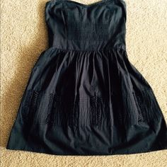 Dress Navy blue strapless. Tag says kimchi blue Kimchi Blue Dresses Mini