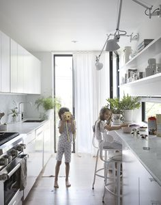 The owners of this 11-foot-wide row house in Brooklyn were faced with a conundrum that many young families in New York eventually confront: the possibility of sacrificing location for space. After living in the house for eight years, the pair – an architect and jewelry designer – chose...