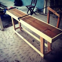 Sofa Table From Pallets