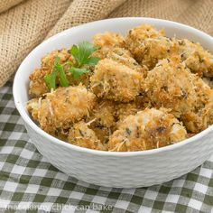 Herbed Chicken Nuggets | An easy, delicious recipe perfect for the whole family!