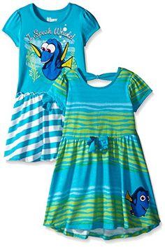 Disney Little Girls' Finding Dory Dresses I Speak Whale, ...