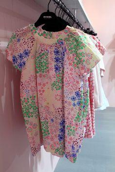 "@soniarykiel175 Enfant Spring 2015, the ""flowers"" theme. #soniarykiel #rykielenfant #SS15 #spring #summer #springsummer2015 #childrens #kids #childrenswear #kidswear #kidsfashion #girls #boys #pittibimbo79"