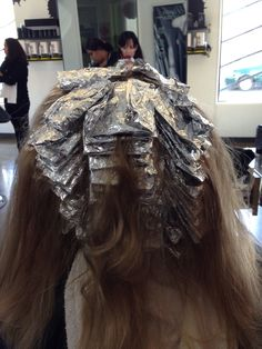 Foil work!!! Full head highlight