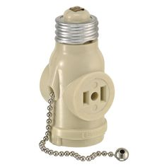 Leviton Pull Chain Socket Endearing Leviton Keyless Lamp Socket Under Cabinet Lighting Grey Metal Design Decoration