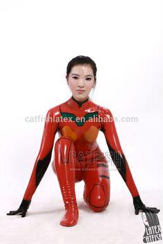 Shikinamiアスカ・ラングレー! ラテックスのナマズ衣類-画像-全身タイツ、ジャンプスーツ-製品ID:2013103275-japanese.alibaba.com