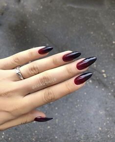 red 42 Charming red Nail Art Designs To Try This summer nails; 42 Charming red Nail Art Designs To Try This summer nails; Red Nail Designs, Acrylic Nail Designs, Acrylic Nails, Perfect Nails, Gorgeous Nails, Fabulous Nails, Cute Nails, Pretty Nails, Black Ombre Nails
