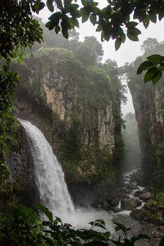 """Cascada """"Texolo"""" xico. Veracruz México"""