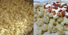 [hana-code-insert name='Reklama horni' /]Přinášíme Vám výborný tip na oběd. Tento recept na halušky pochází z Maďarska a je velmi jednoduchý a rychlý. Vyzkoušejte nahradit brambory a vejce jednou speciální přísadou- taveným sýrem. Uvidíte, že chutnají