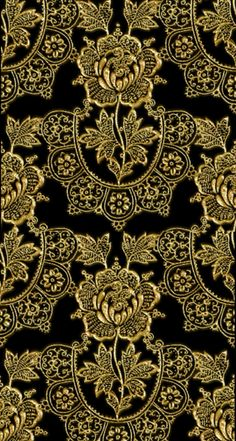 By Artist Unknown. Gold Wallpaper, Wallpaper Backgrounds, Iphone Wallpaper, Versace Wallpaper, Patterns In Nature, Textures Patterns, Animal Print Background, Tapete Gold, Art Chinois