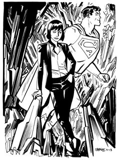 Lois and Supes
