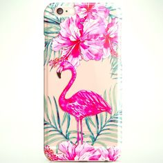 IDede Pink Flamingo IPhone 6s Plus Case Colorful Pink Flamingo IPhone 6s Plus Case Bright Colorful. Silicone case, flexible.  Never used.  From current line. IDede Accessories Phone Cases