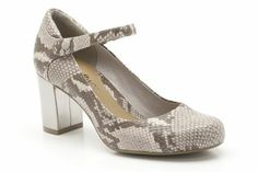 Womens Smart Shoes - Deva Dolly in Natural Snake from Clarks shoes