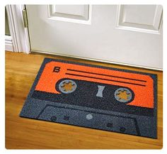 Love this for my retro music themed spare room:
