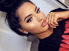 Ριηтєяєѕт: natural makeup, insta baddie makeup, makeup on fleek, c Makeup On Fleek, Cute Makeup, Gorgeous Makeup, Glam Makeup, Pretty Makeup, Insta Baddie Makeup, Funny Makeup, Beauty Make-up, Beauty Hacks