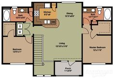 View floor plans, photos, and community amenities. Garage Apartment Floor Plans, 2 Bedroom House Plans, Garage House Plans, Cottage House Plans, Modern Tiny House, Tiny House Cabin, Tiny House Living, Modern House Plans, Small Beach Houses