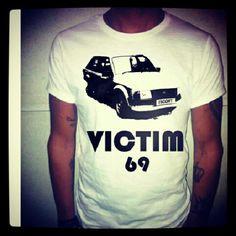 Victim 69 T-Shirt #tshirt #maglia #maglietta #tee #car #macchina #69 #victim #ford #escort #fordescort #fashion #moda #mode #fashionitaly #man #uomo #ragazzo #boy #italianstyle #italianboy #tatuaggio #tatuaggi #tattoo #tatoo #nogiftmorelove #happiness - @chemisiershop  #webstagram