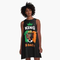 #thekingisback #conormcgregor #ufc #mma #findyourthing #shirtsonline #trends #riveofficial #favouriteshirts  #art #style #design #shopping #redbubble #digitalart #design #fashion #phonecases #customproducts #onlineshopping #accessories #shoponline #onlinestore Conor Mcgregor, Ufc, Chiffon Tops, Designer Dresses, Ireland, Tank Man, Colours, King, Trends