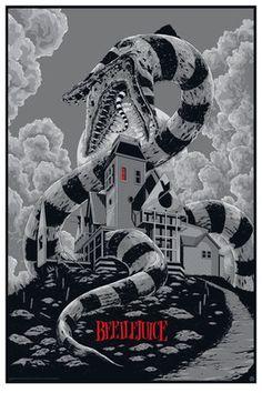 Beetlejuice Variant Movie Poster