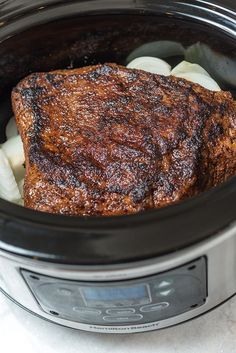 Slow Cooker Texas Barbecue Brisket