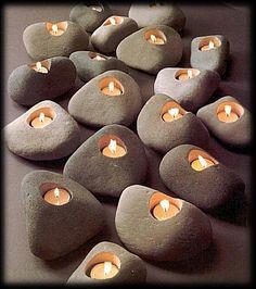 Rock Lites Candle Voltive Holder