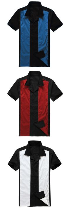Plus Size Dropship Supplier Mens Short Sleeve Designer Button Up Ropa Hombre Roupa Masculina Camisas Rock Party Panel Shirt