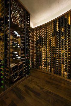 Maybe I should just change my dining room area into a wine celler - I don't use it anyway, and this I would use!