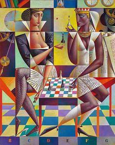 """El """"relativo cubismo"""" de Georgy Kurasov"""