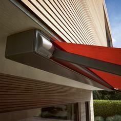 markilux 970 Shops, Blinds, Pergola, Curtains, Design, Home Decor, Italia, Heaven, Tecnologia