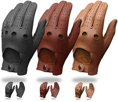 Mens Pair Of Classic Genuine Soft Nappa Leather Driving Gloves Dress Fashion Motorbike Vintage Style (L, BROWN) Outerskin http://www.amazon.co.uk/dp/B00QXO0YBW/ref=cm_sw_r_pi_dp_PYqYub009NPVA