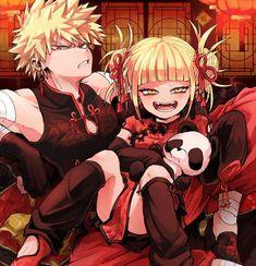 Himiko and Bakugo
