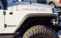Jeep WRANGLER Pink Digital Camo Hood Decals